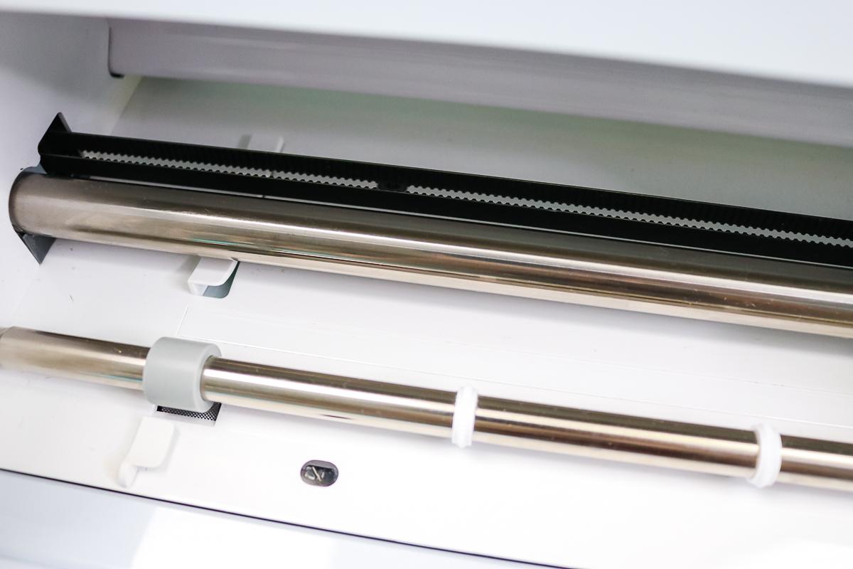 rollers and sensors in a cricut machine