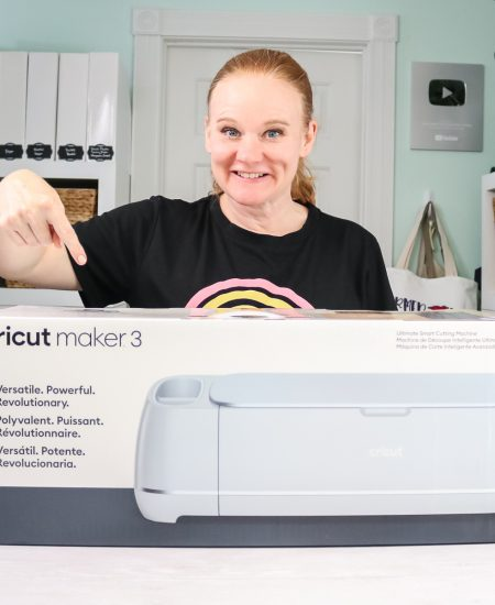 cricut maker 3 in a box with angie holden