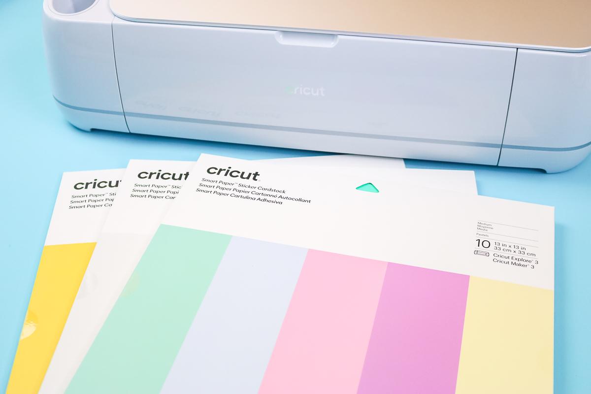 cricut smart sticker cardstock