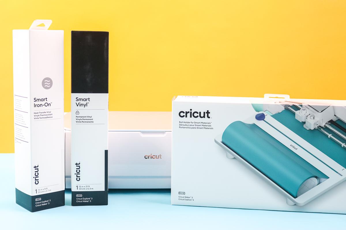 cricut roll holder with smart materials