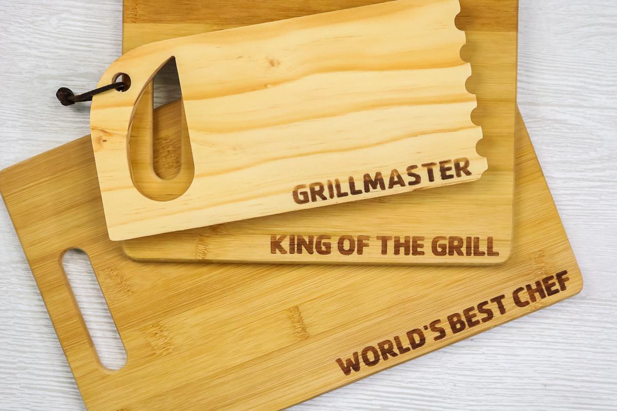 wood burning on wood cutting boards