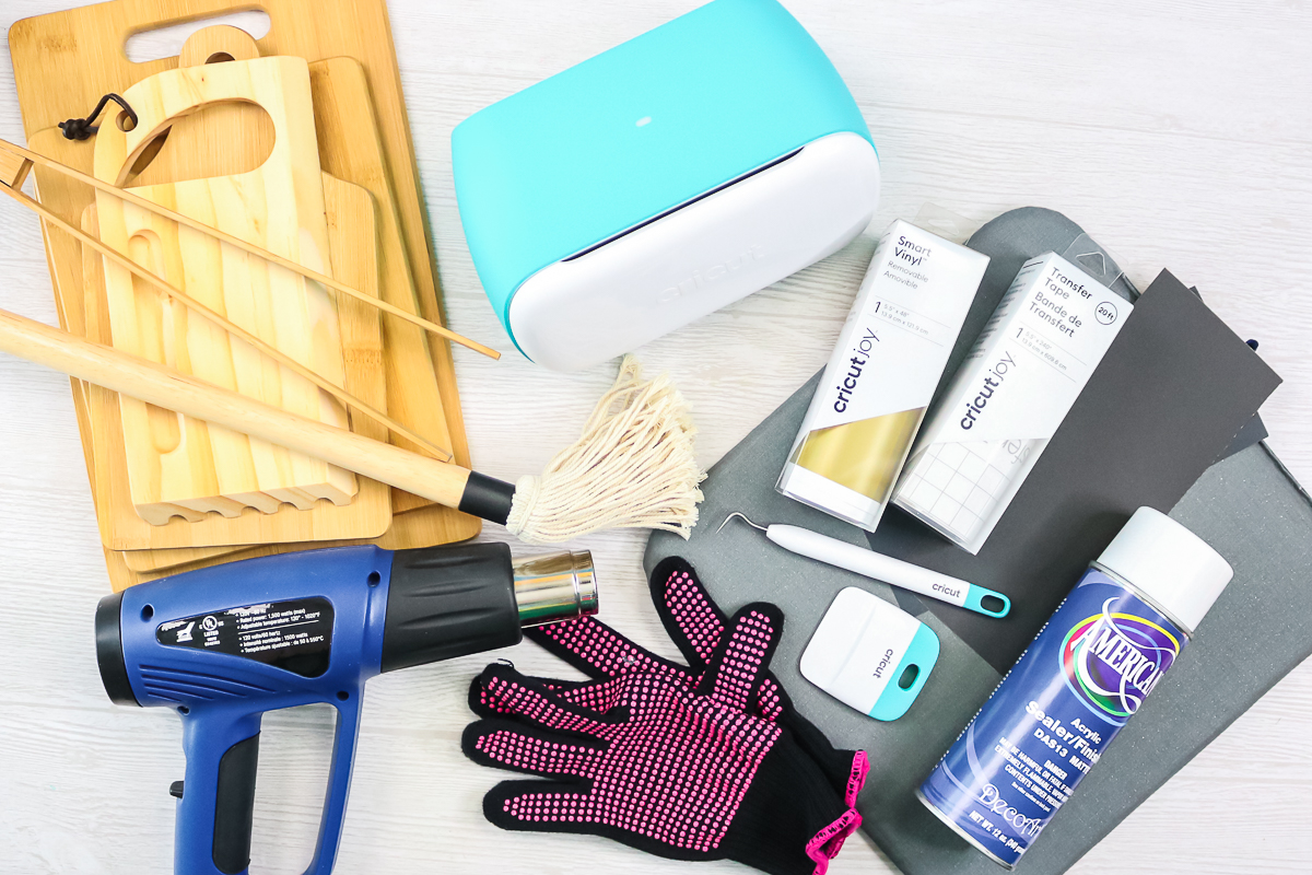 supplies for wood burning with a cricut
