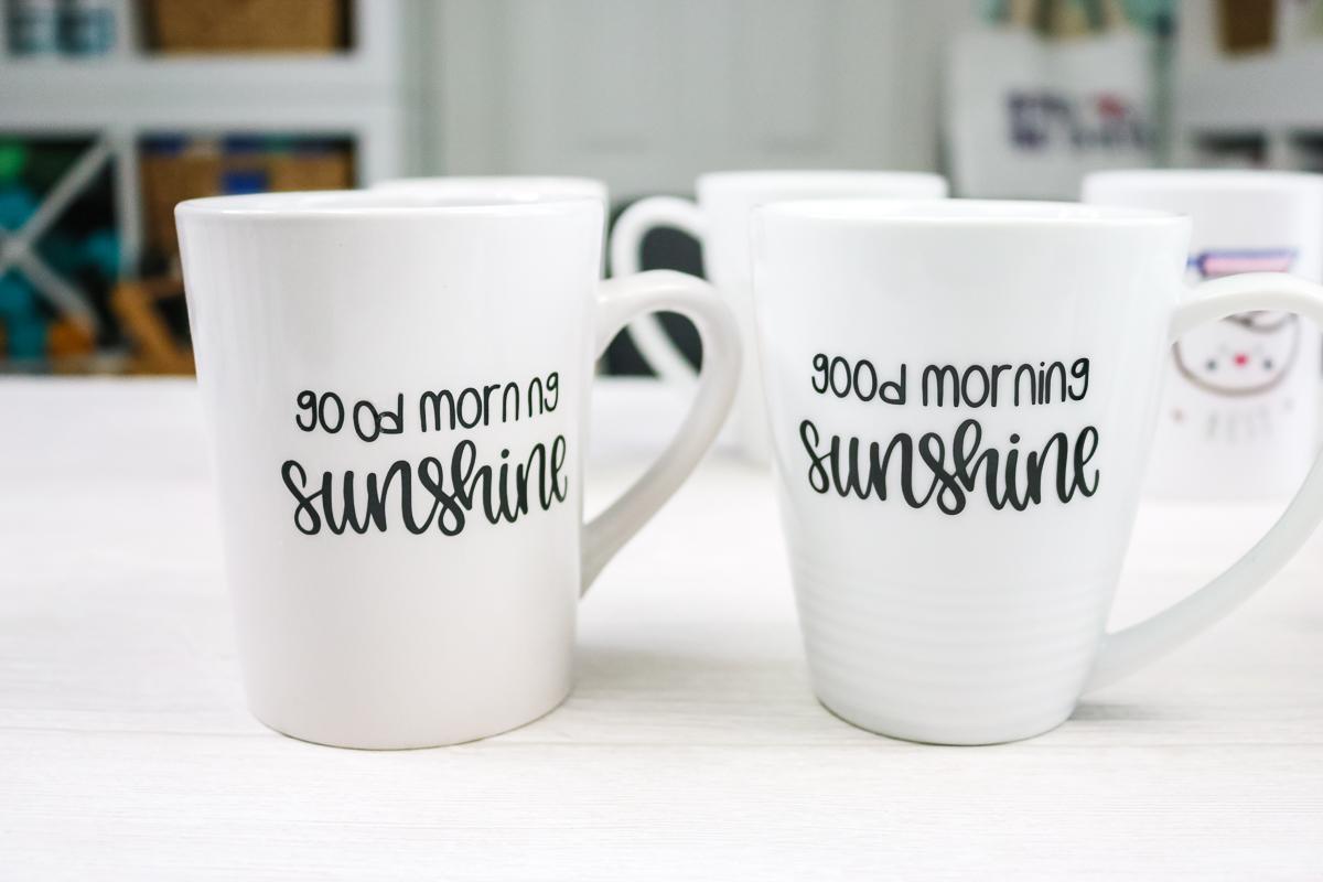 does dishwasher safe mod podge work on mugs