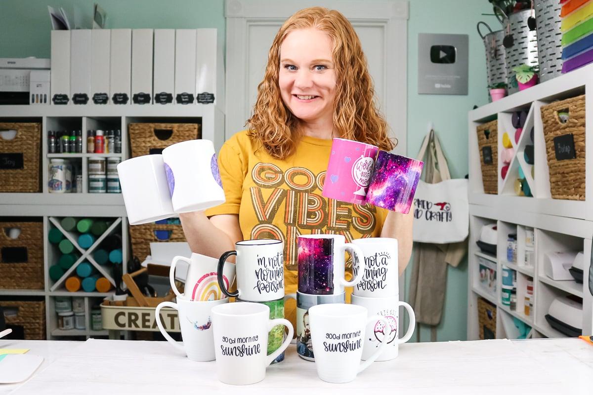 angie holden holding mugs