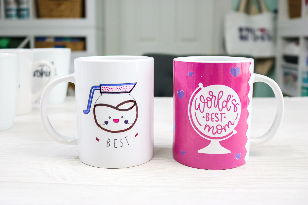infusible ink mugs after dishwasher cycles