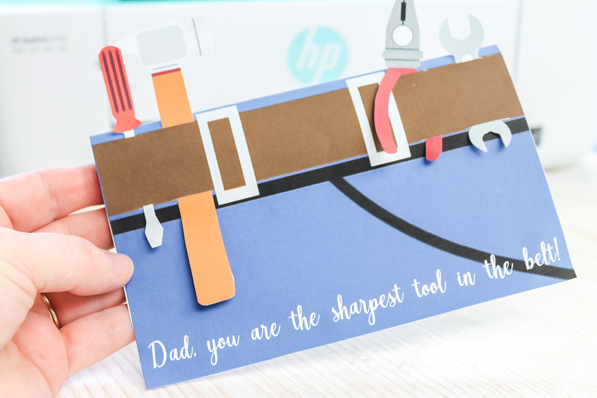 tools father's day card