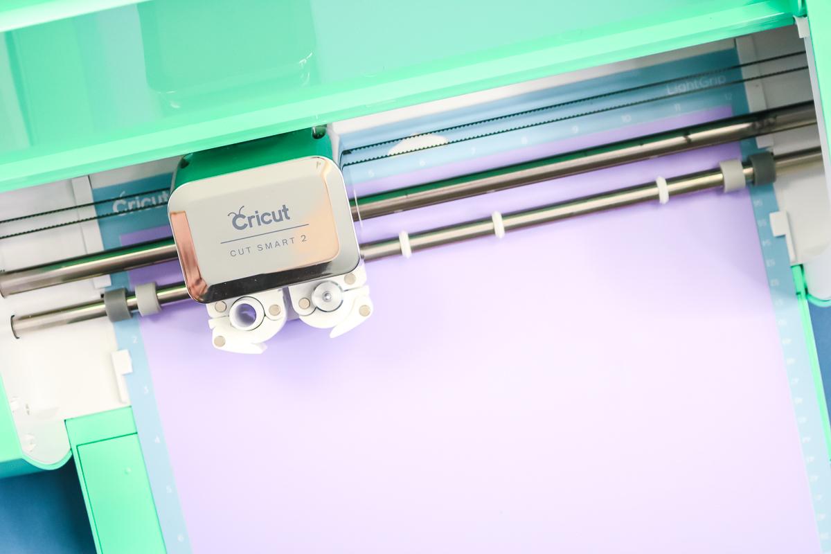 cricut explore air 2 cutting iron on vinyl