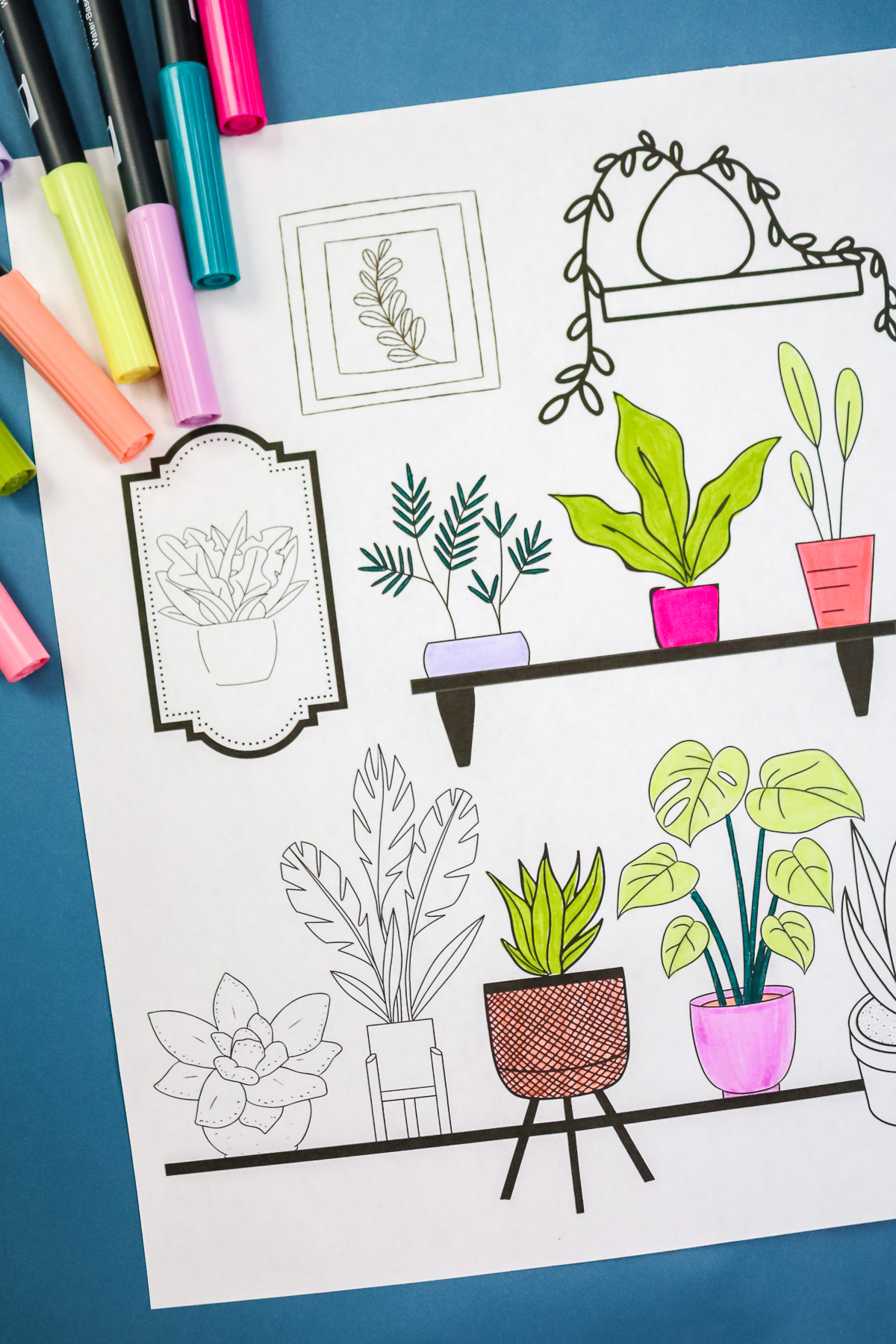 coloring page art