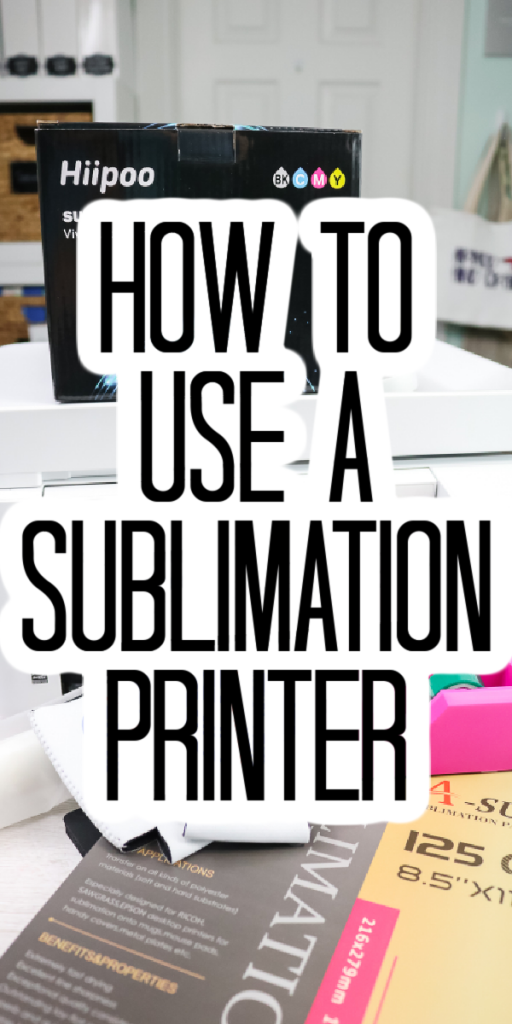 sublimation printer basics