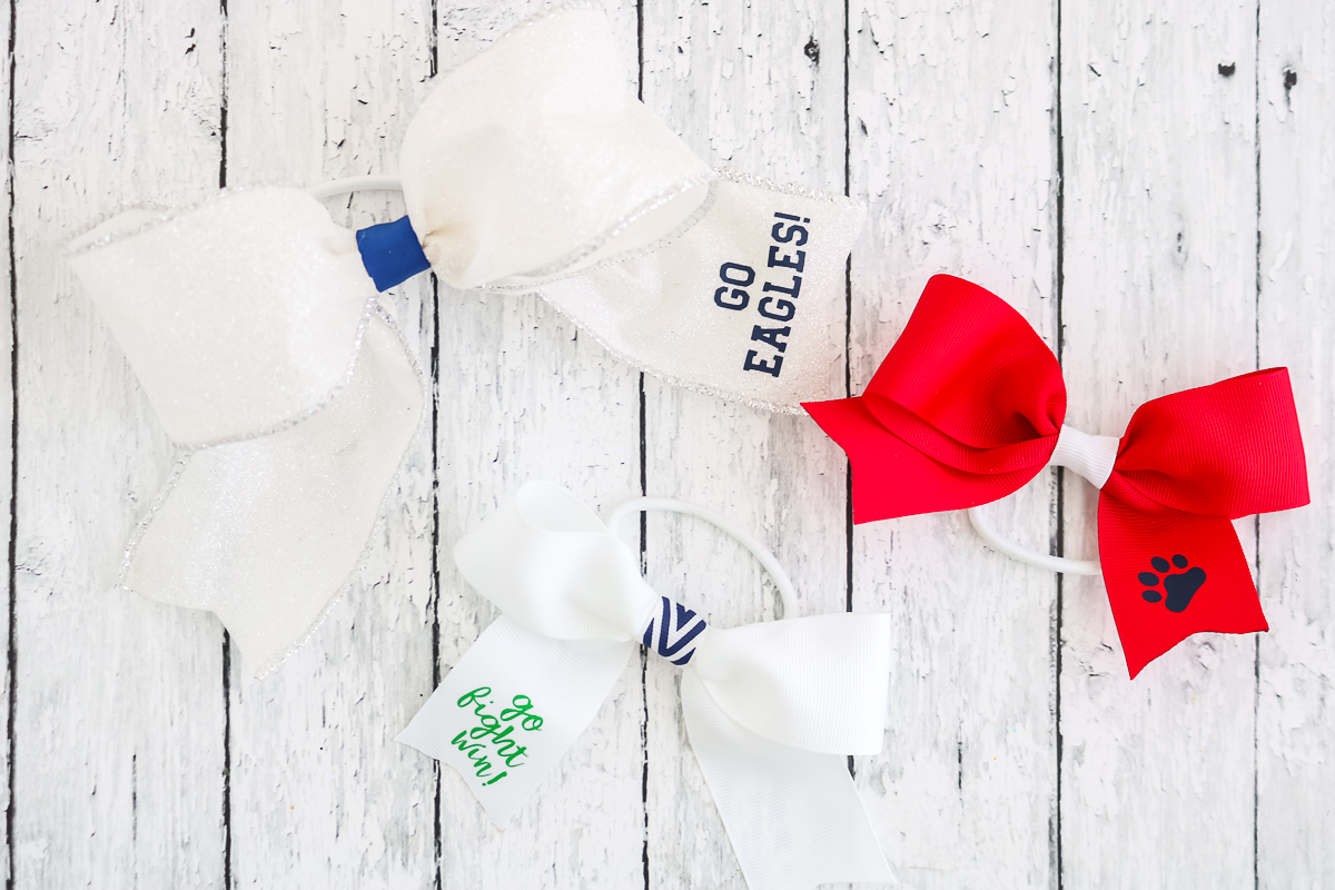 how to make cheer bows