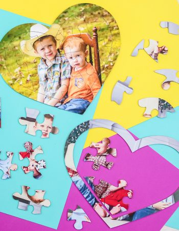 make a puzzle out of a picture