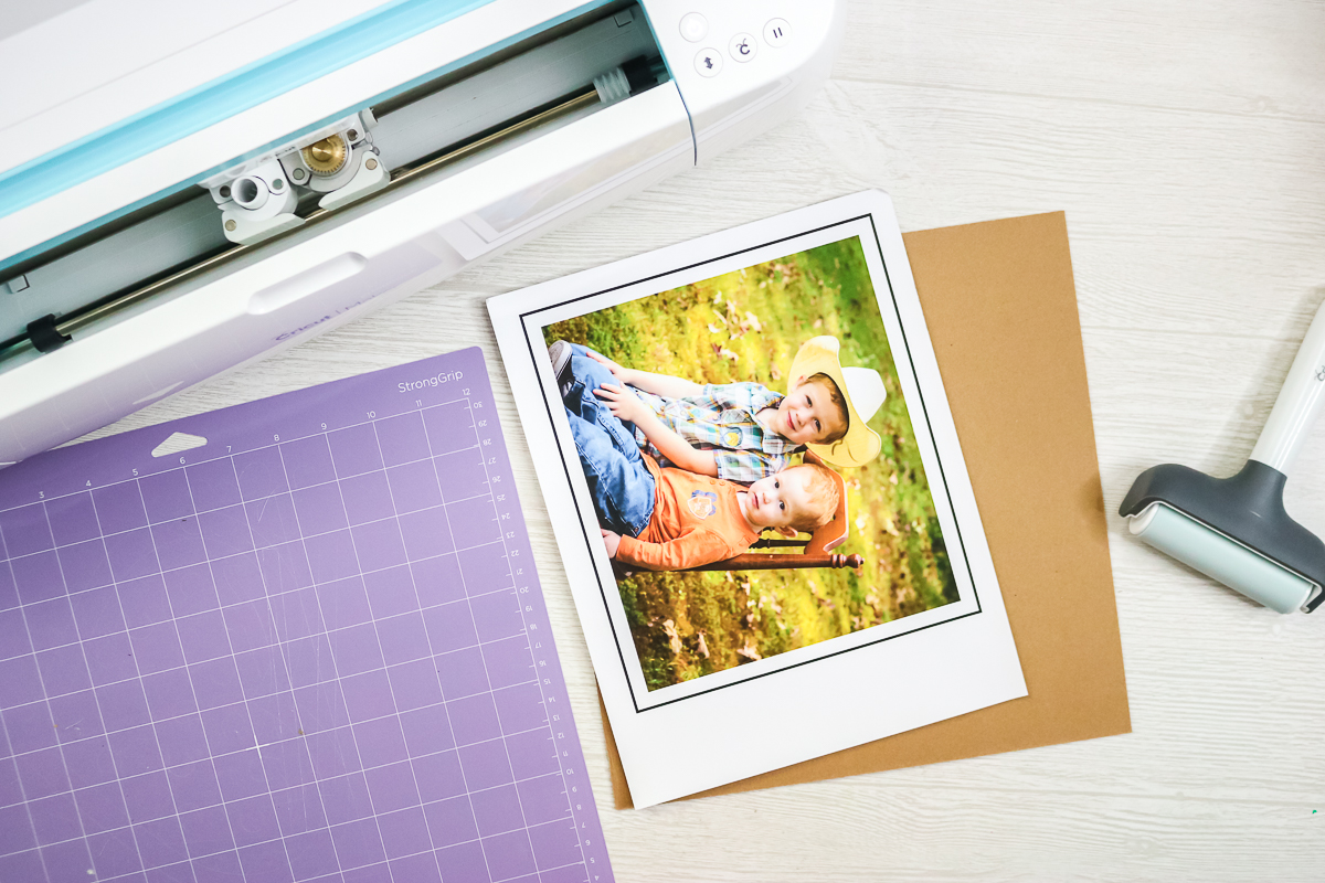 printable vinyl with a picture printed on it