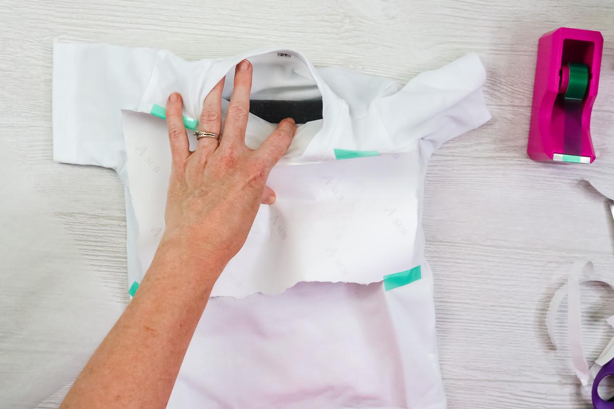 foam inside of a shirt