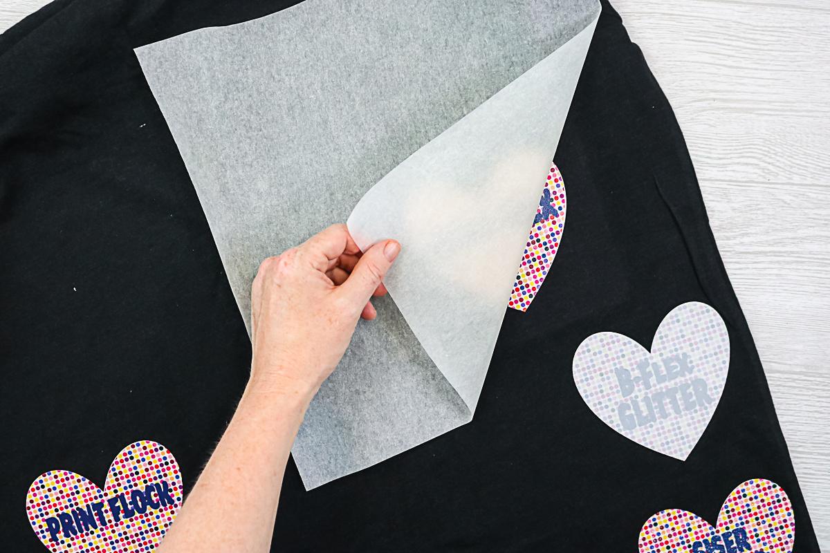 subliflex on a black cotton shirt