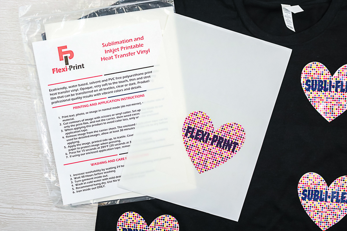how to use flexiprint for sublimation on dark colors and cotton