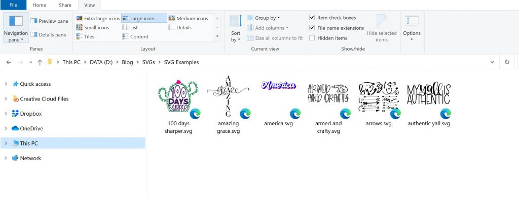how to view svg files on a pc