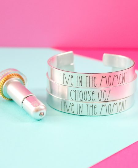 engraving jewelry with a cricut maker