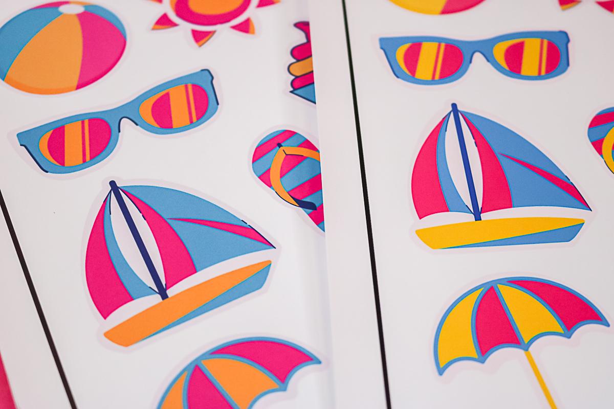 printing stickers