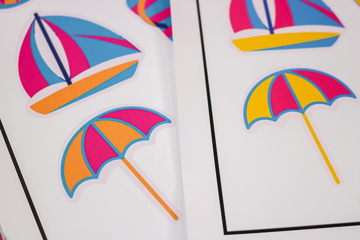 printing Cricut stickers