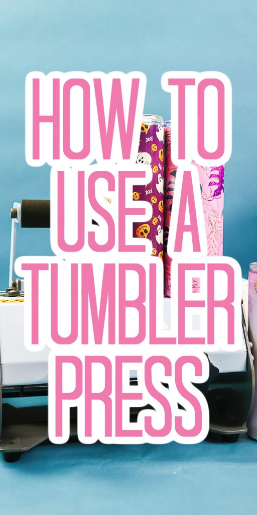 how to use a tumbler press