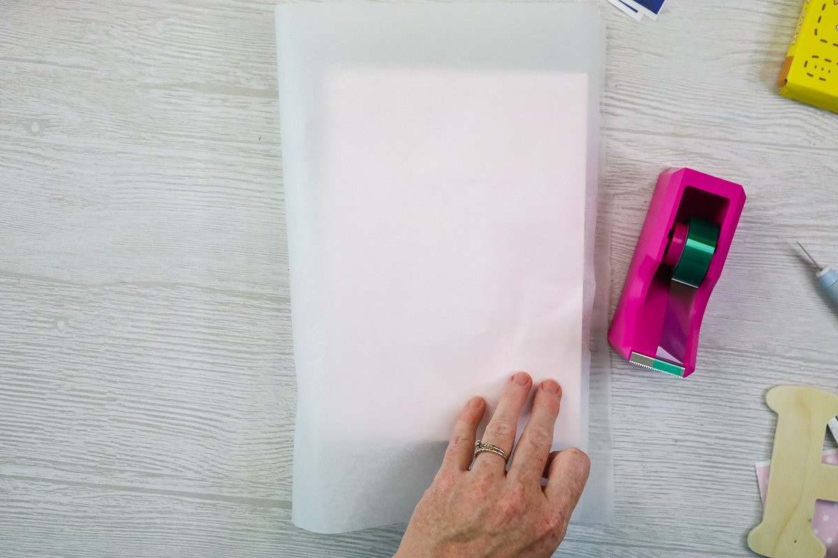 using protective paper for sublimation