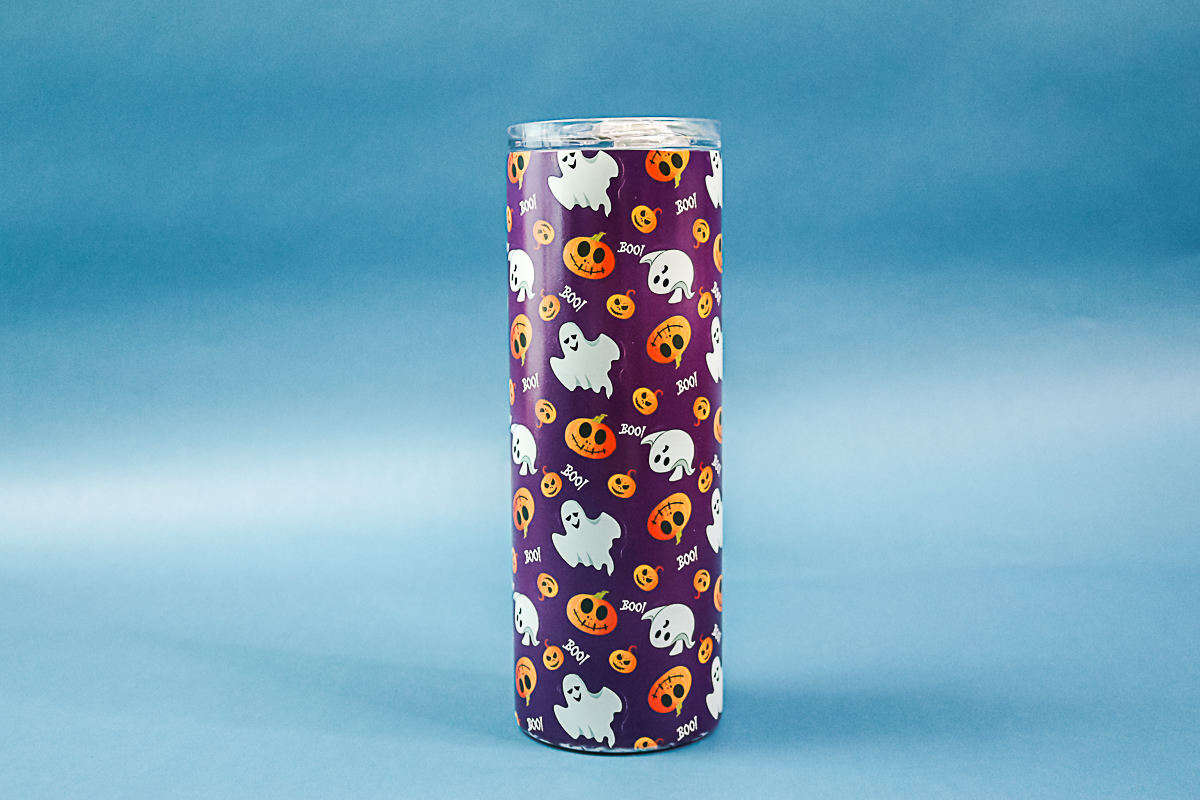 glow in the dark sublimation tumbler