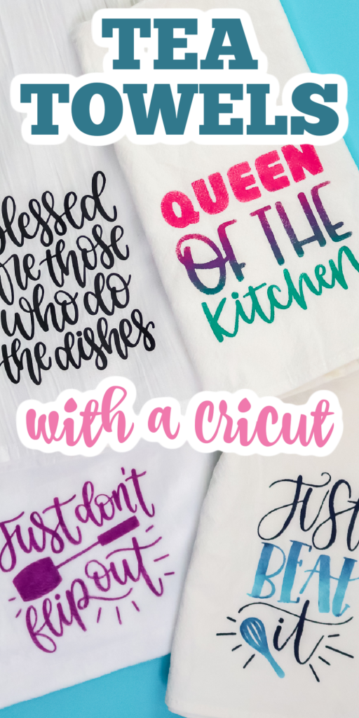 cricut kitchen towels