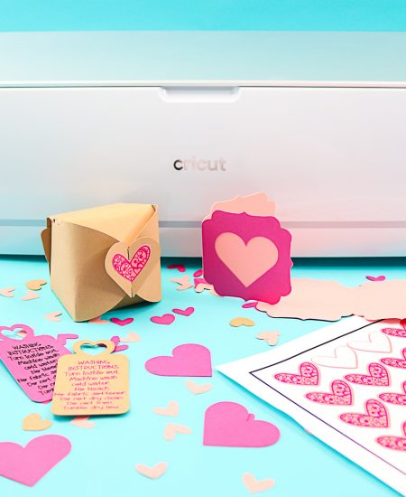 small business packaging with a cricut