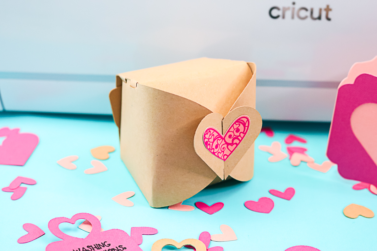 small box with heart on top