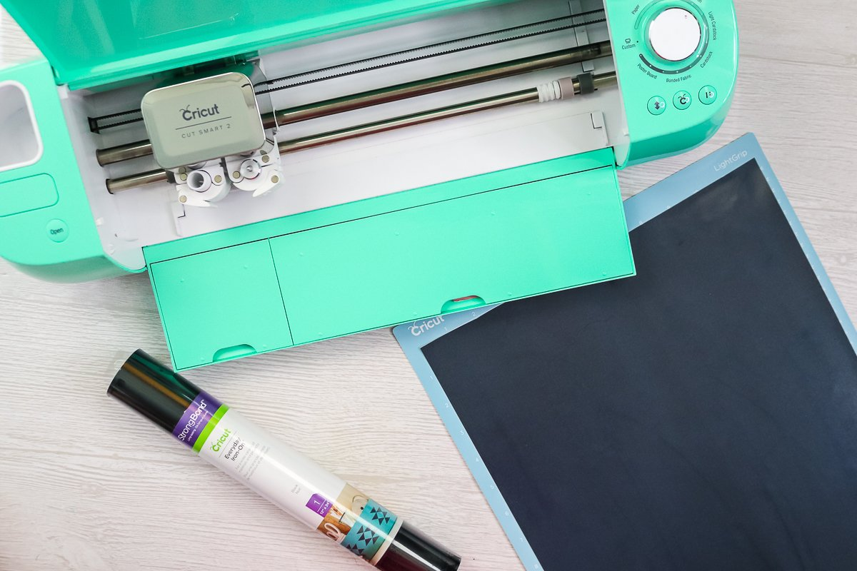 cutting iron on with a cricut explore
