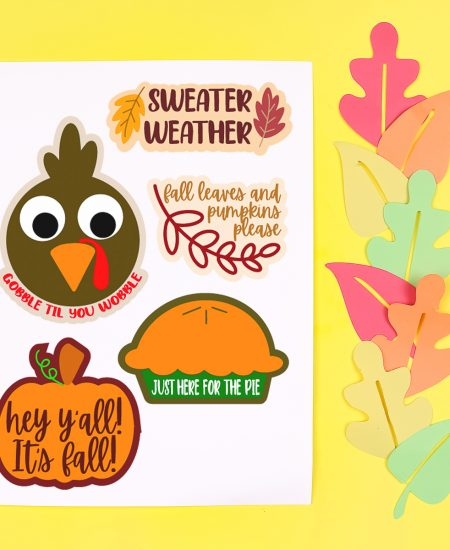 free printable stickers for fall