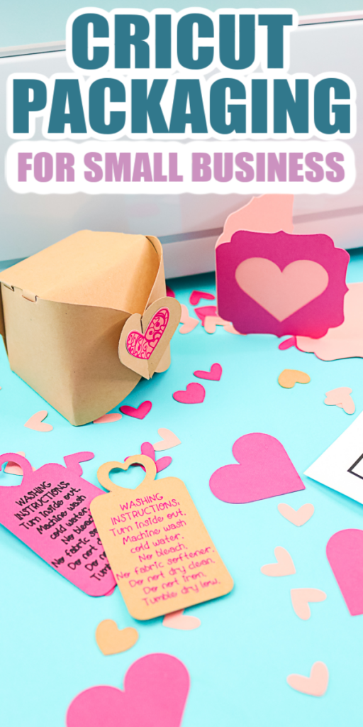 small business packaging ideas with a cricut