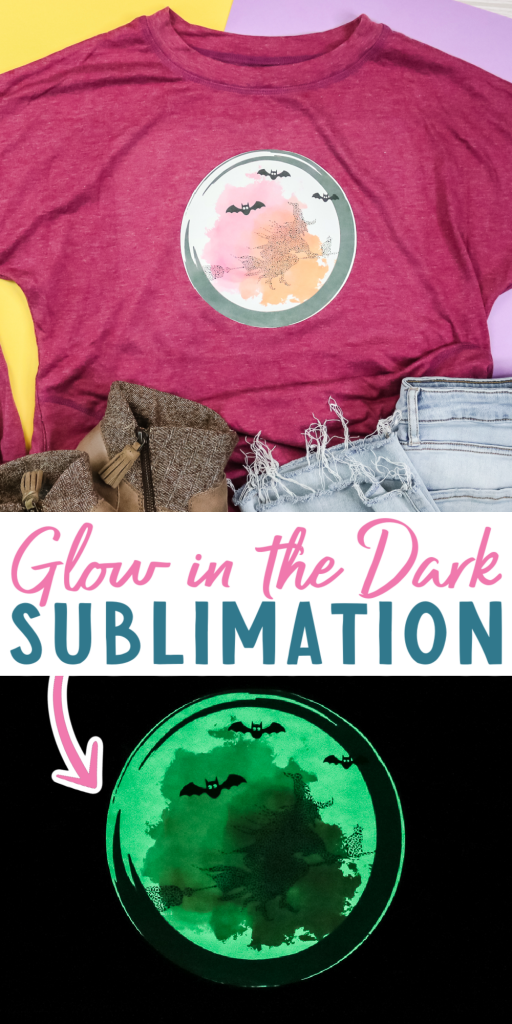sublimation glow in the dark