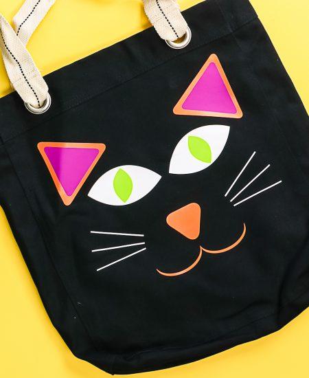 cat trick or treat bag