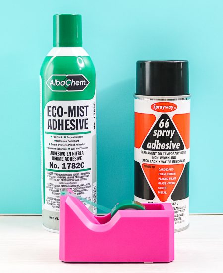 what adhesive to use with sublimation